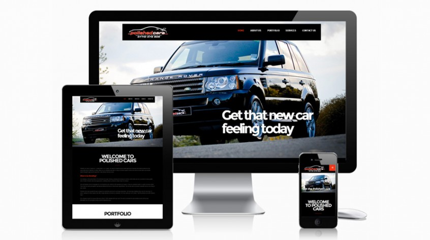 Polished Cars Website