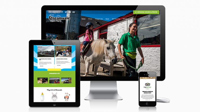 Streamvale Farm Website