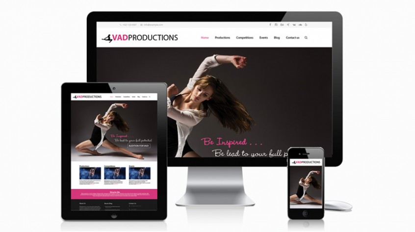 VAD Productions Web Design