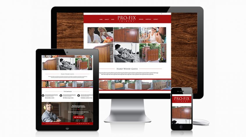 Profix Joinery Website