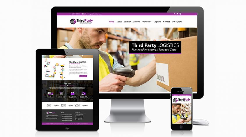 Third Party Logistics Website