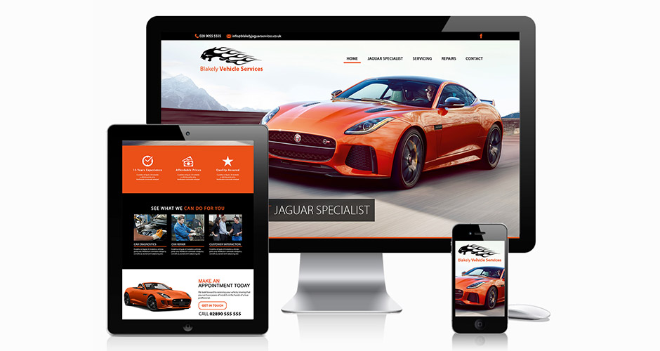 Blakely Vehicle Services Website