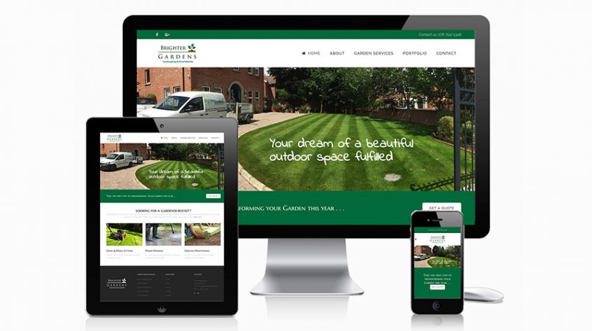Brighter Gardens Website
