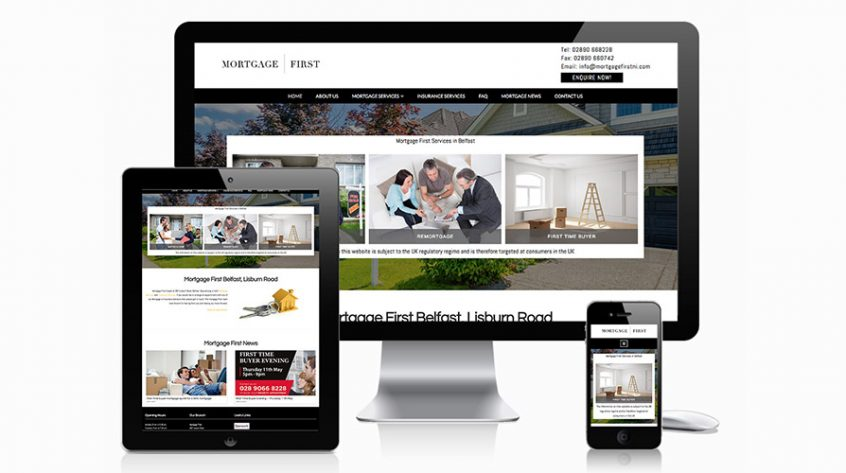 Mortgage First Website