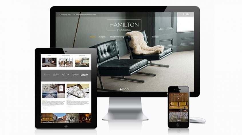 Hamilton Flooring Website