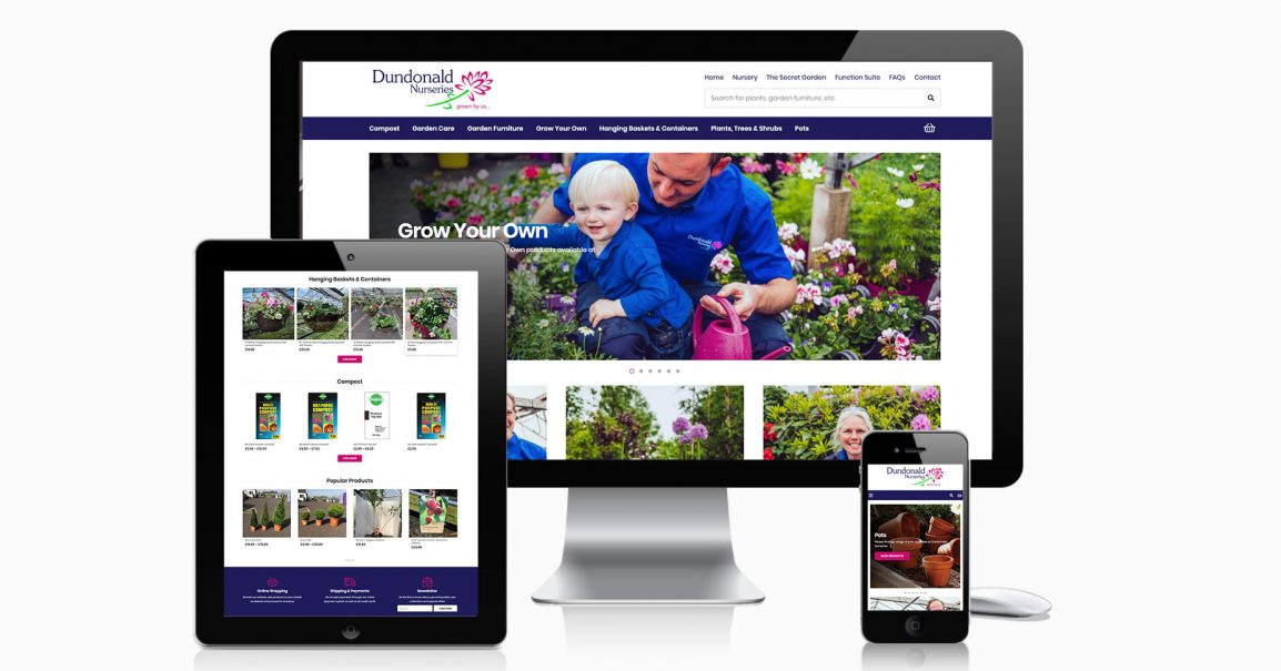 Dundonald Nurseries ECommerce Website