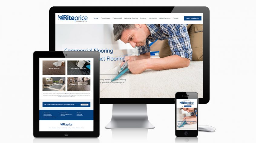Rite Price Commercial Website